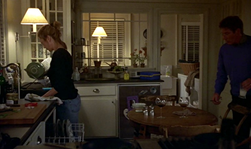 Unfaithful movie house kitchen Diane Lane