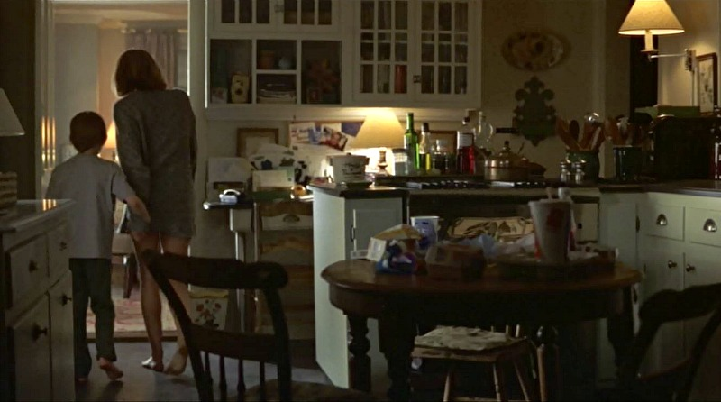 Unfaithful movie house kitchen table