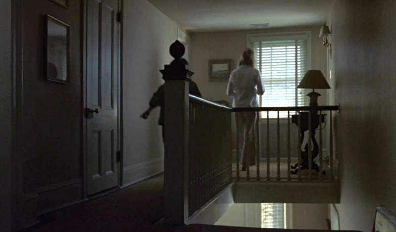 Unfaithful movie house upstairs landing