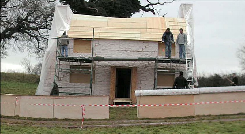 Building Rosehill Cottage for The Holiday movie