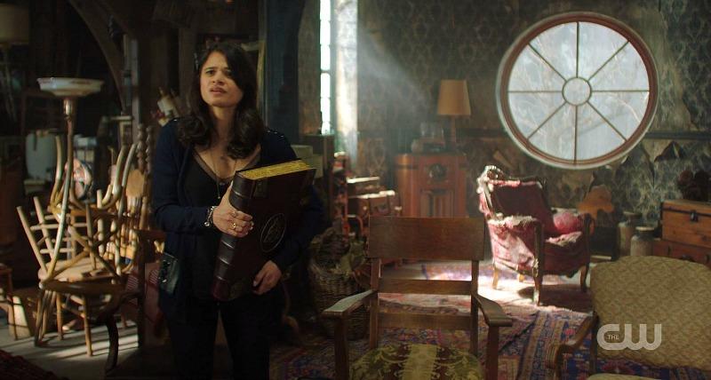 Charmed reboot CW attic round window