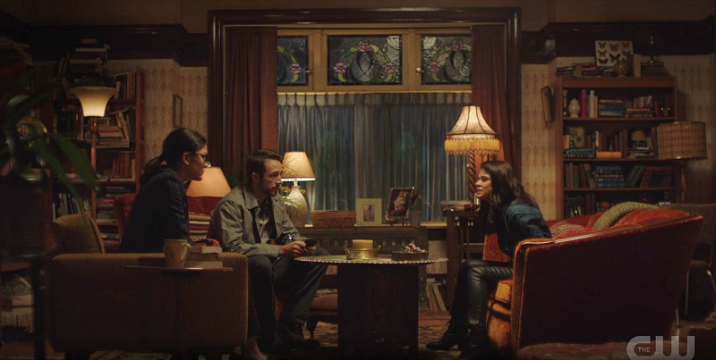 Charmed reboot house living room