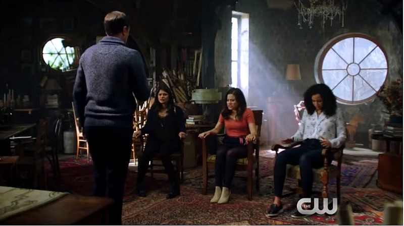 Charmed reboot the CW house attic