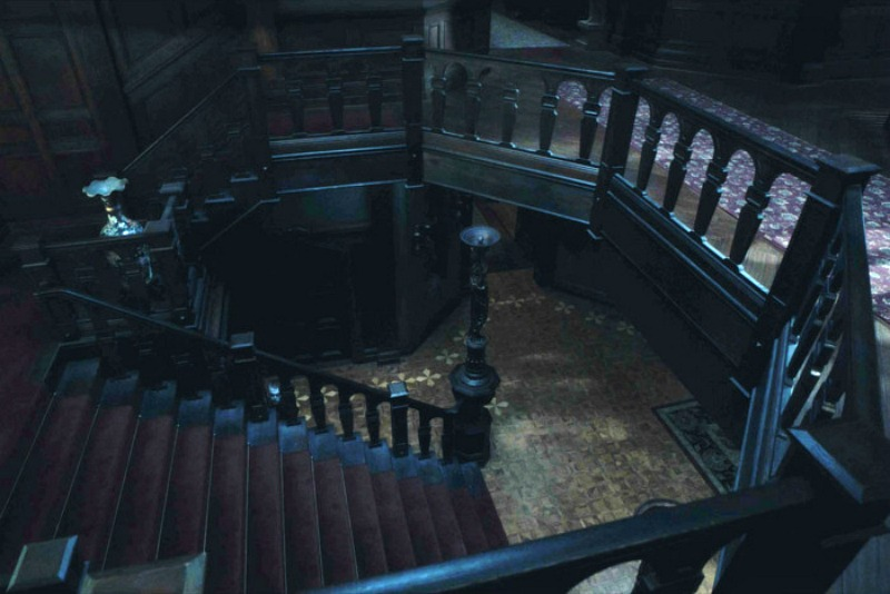 Haunting of Hill House staircase