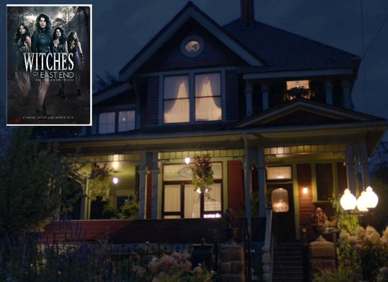 House featured in Witches of East End and Charmed 2018