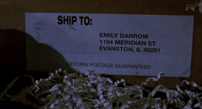Joe Darrow house address Dragonfly movie
