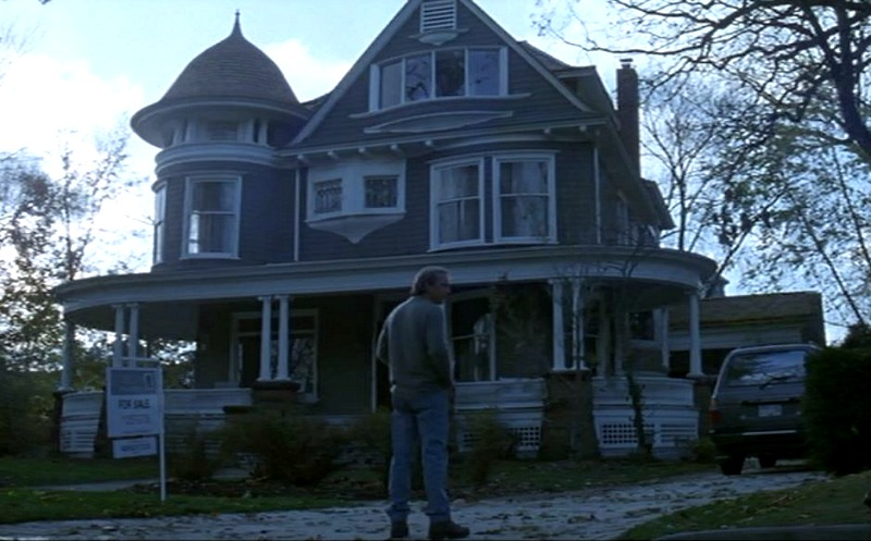 Kevin Costner movie Dragonfly house