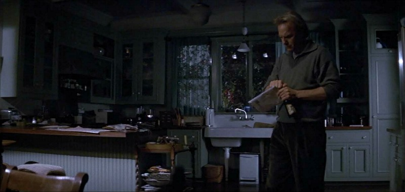 Kevin Costner movie Dragonfly house kitchen