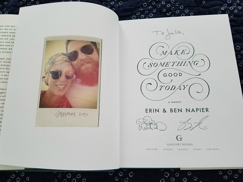 Make Something Good Today Book Erin Napier
