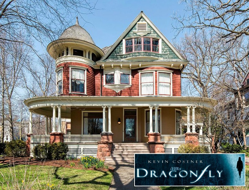 Victorian in Kevin Costner movie Dragonfly Evanston IL