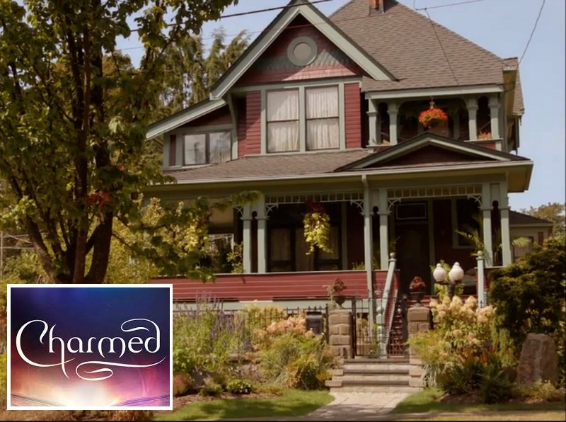 Witches of East End Victorian House in Charmed Reboot