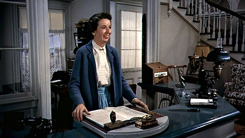 White Christmas Mary Wickes Emma Allen front desk
