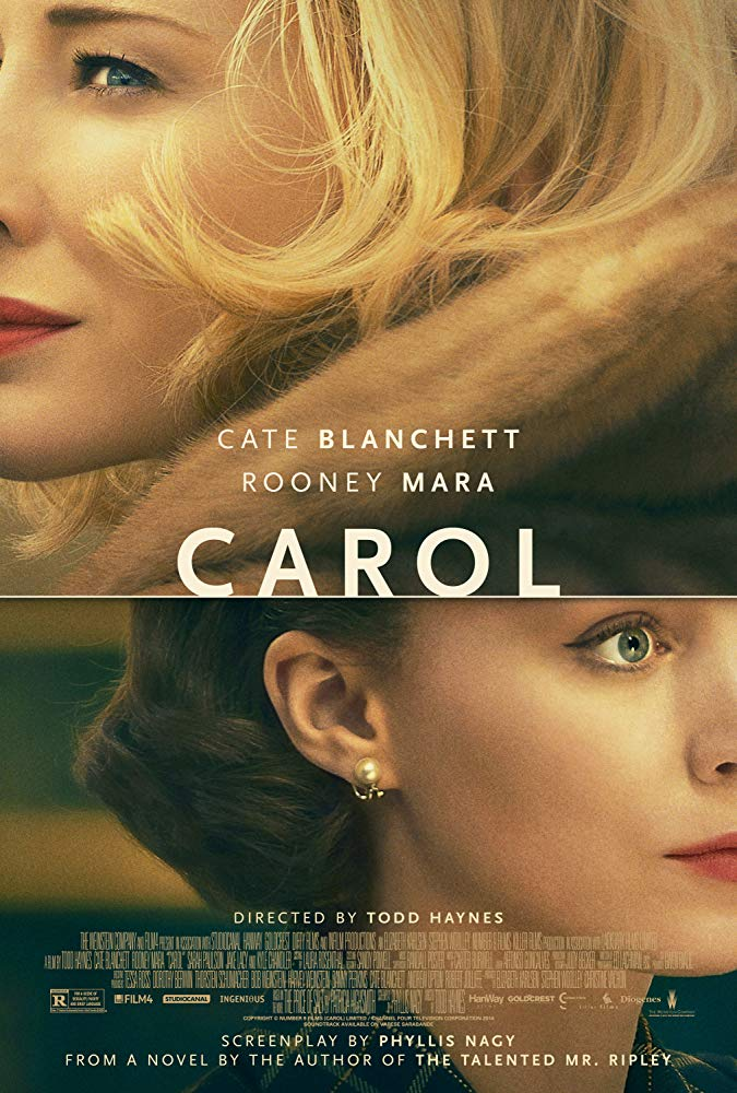 Carol movie poster Cate Blanchett