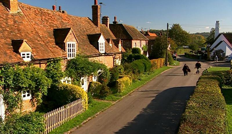 Cottages on Vicar of Dibley