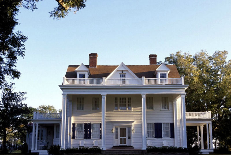 Noah's house in the movie The Notebook