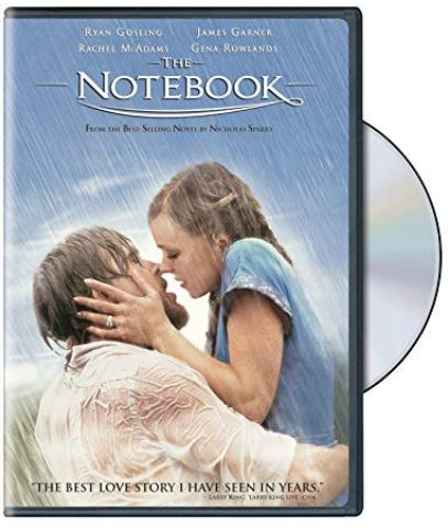 Notebook movie DVD