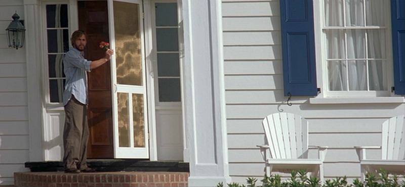 Ryan Gosling front door Noah's house The Notebook