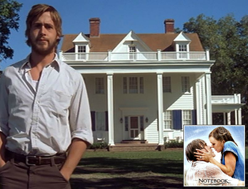 The Notebook Ryan Gosling Noah Calhoun House