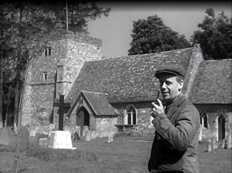 Turville Village Church in Went the Day Well 1944