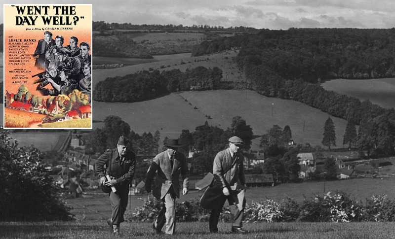 Turville Village in 1944 movie Went the Day Well