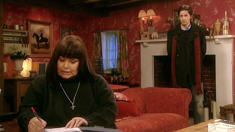 Vicar of Dibley TV series vicarage set