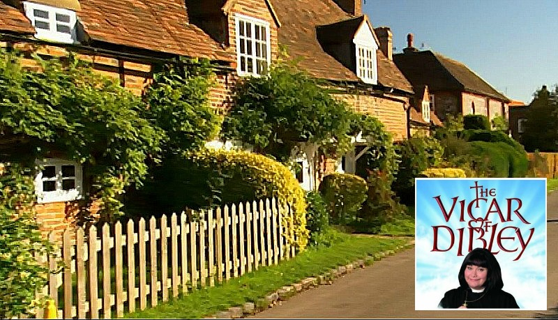 Windmill Cottage on TV series Vicar of Dibley