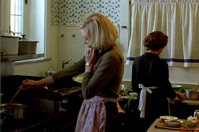 "Cate Blanchett cooking in the movie ""Carol"""