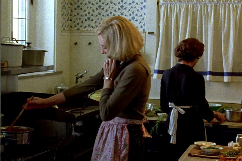 kitchen in the movie Carol