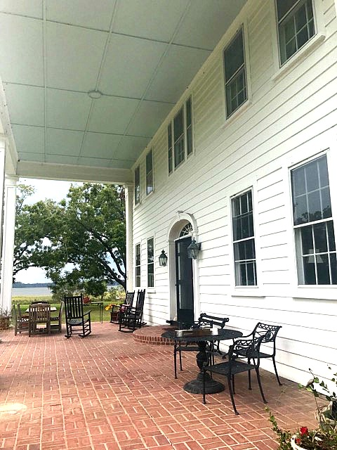 The Notebook Martins Point Plantation House Porch Today