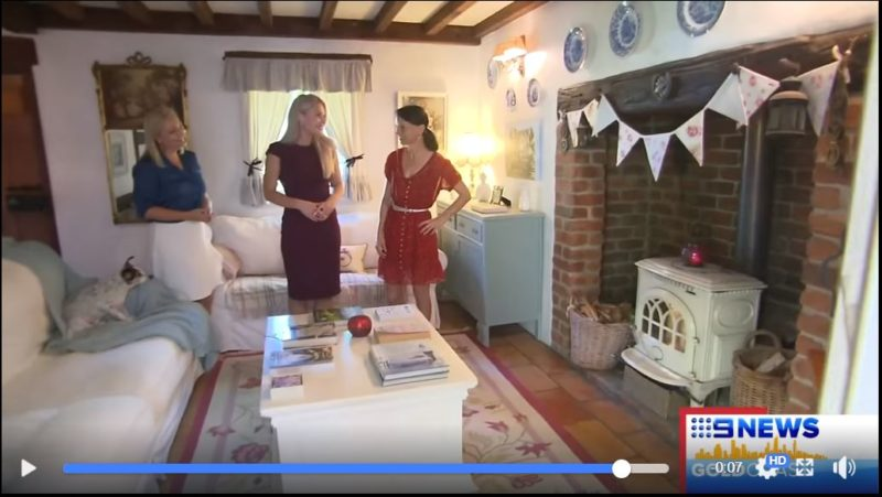 Fig Tree Cottage Featured on the Local News