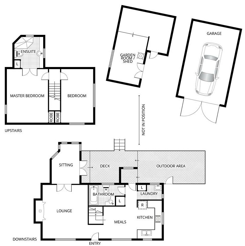 Fig Tree Cottage Floor Plans