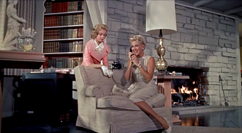 Celebrity Dining: Imitation of Life movie Lora Meredith's Living Room