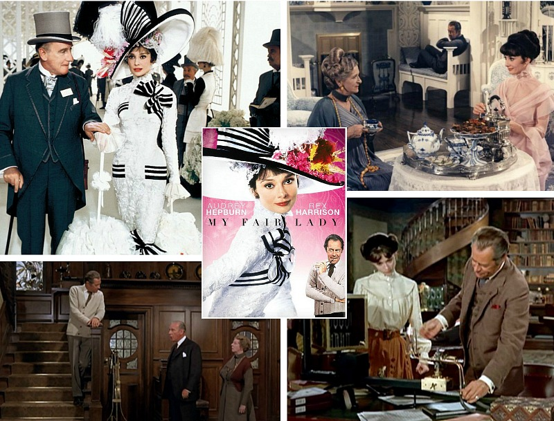 """The Loverly Sets from the Audrey Hepburn Movie """"My Fair Lady"""" - Hooked on Houses"""
