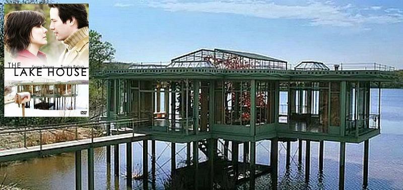 The Lake House movie house Sandra Bullock Keanu Reeves