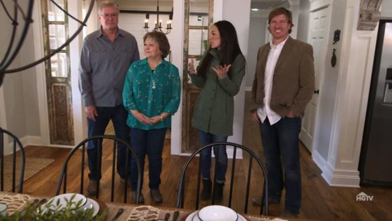 chip and joanna gaines fixer upper reveal