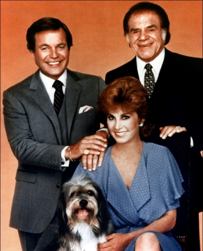 Hart to Hart Cast with Freeway the Dog