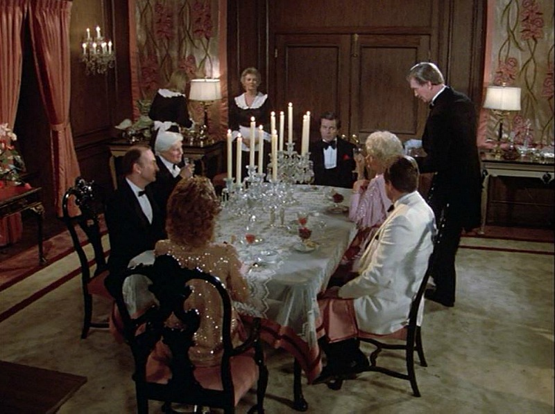 Celebrity Dining: Hart to Hart house dining room season 5