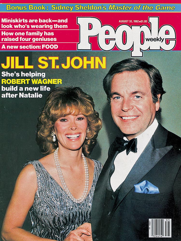 Celebrity Dining: Jill St John and Robert Wagner People Cover 1982