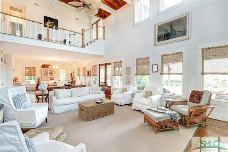 Sandra Bullock Beach House For Sale 1107 Bay Street Tybee GA