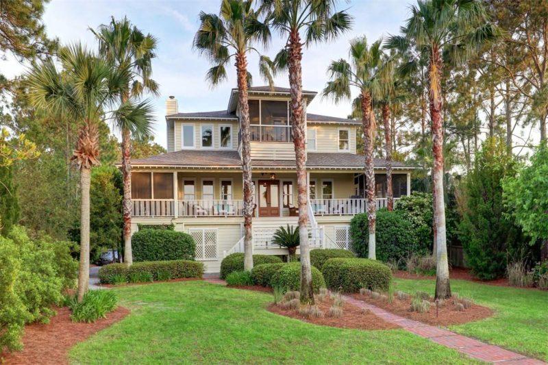 Sandra Bullock Beach House For Sale 1107 Bay Street Tybee GA