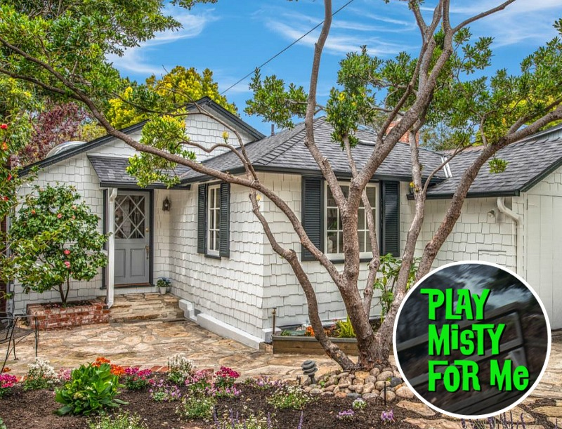 Cute Carmel Cottage from Play Misty for Me Movie