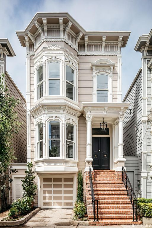 Full House Victorian 1709 Broderick San Francisco