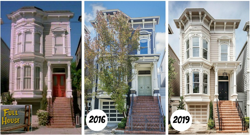 Full House Victorian Then and Now