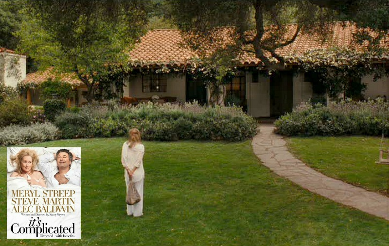 Meryl Streep's house It's Complicated movie