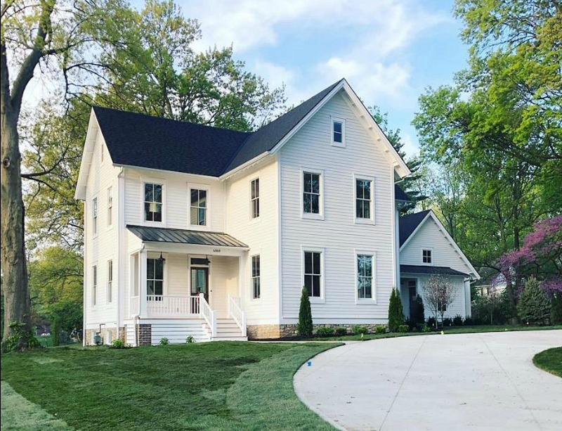 New Farmhouse Recreated to Look Like Old One in Kansas