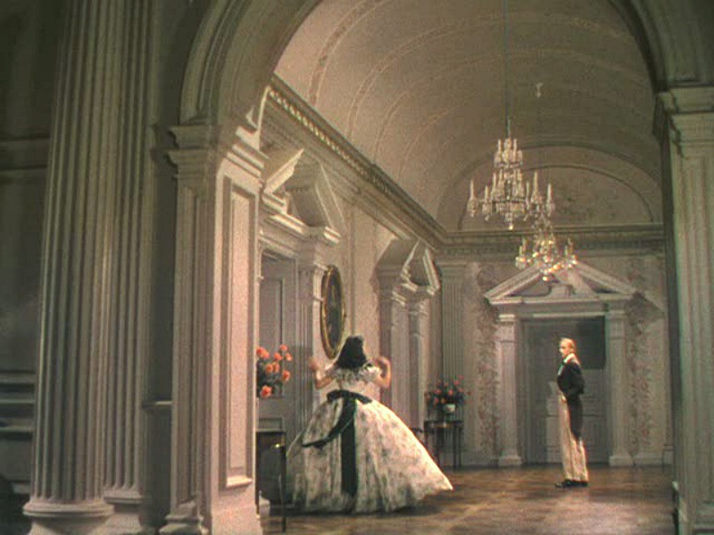 Matte painting grand hall Twelve Oaks Gone with the Wind