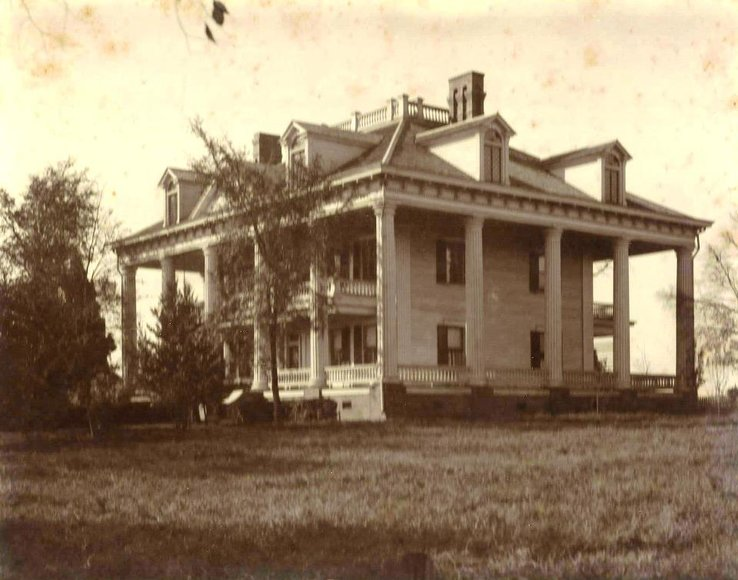 Historic Photo of Twelve Oaks 2176 Monticello Covington GA