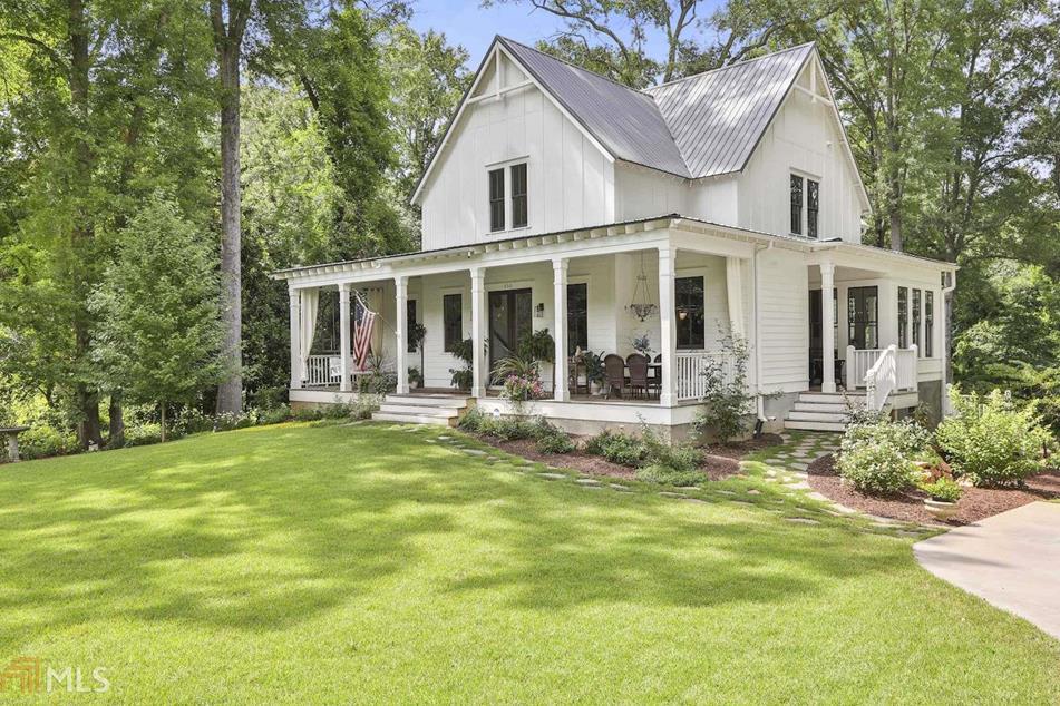 Modern Farmhouse For Sale Senoia Georgia