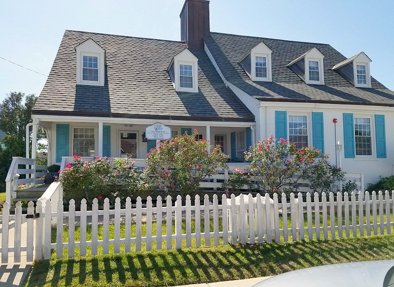 Cottage Library Long Beach Island White Picket Fence