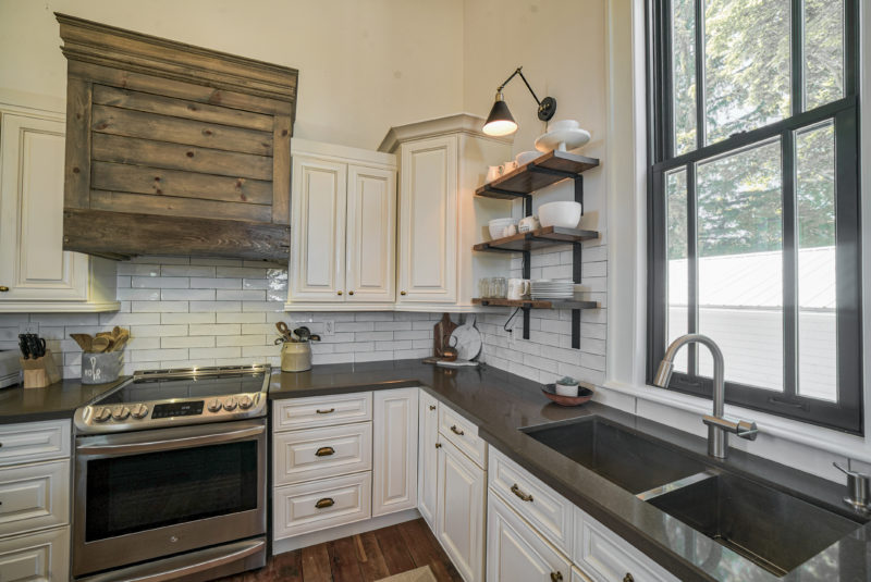 Kitchen in Chris Kauffman's Converted Church